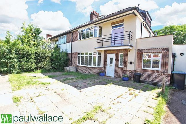 Thumbnail Semi-detached house for sale in Chalkwell Park Avenue, Enfield