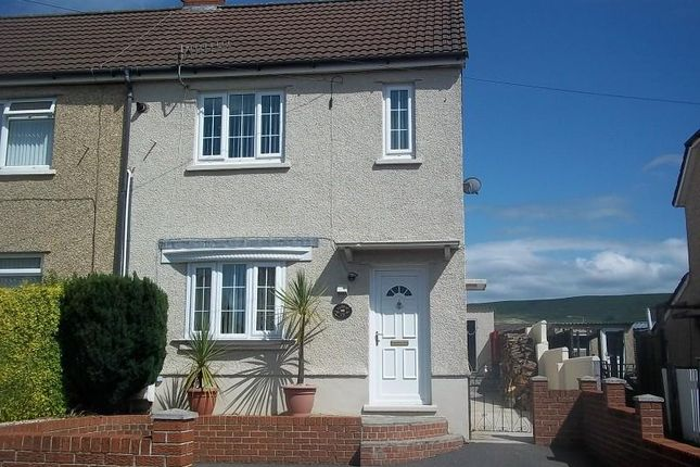 Thumbnail Semi-detached house to rent in Lluest, Ystradgynlais