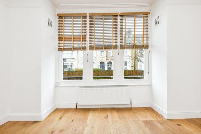 Bay Window of Chestnut Grove, London SW12