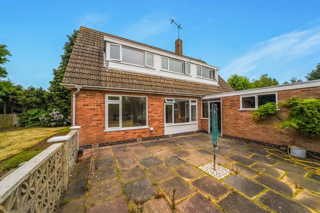 Thumbnail Detached house for sale in Chestnut Drive, Bushby, Leicester