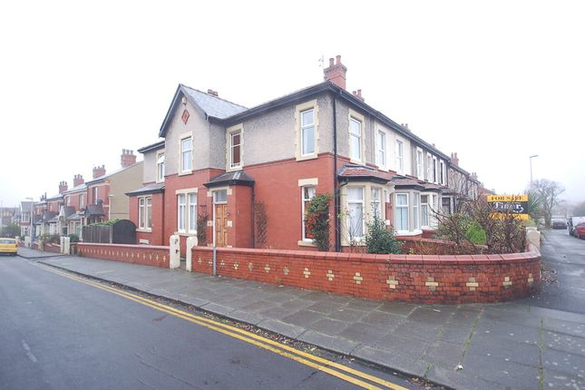 Thumbnail End terrace house for sale in Poplar Avenue, Blackpool