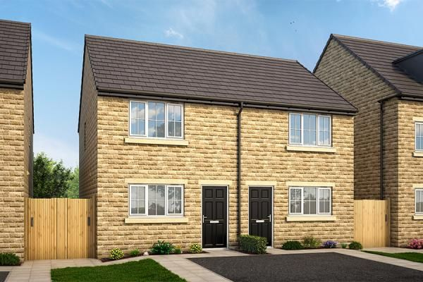 "2 bed property for sale in ""The Haxby At Clarence Gardens Phase 2 "" at Oxford Road, Burnley"