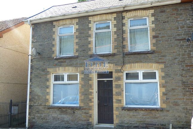 Thumbnail End terrace house for sale in Walters Road, Ogmore Vale, Bridgend.