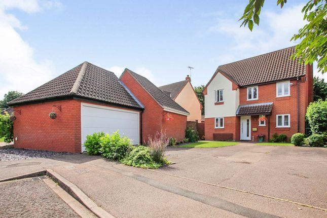 4 bed detached house for sale in Gascoigne, Werrington, Peterborough PE4