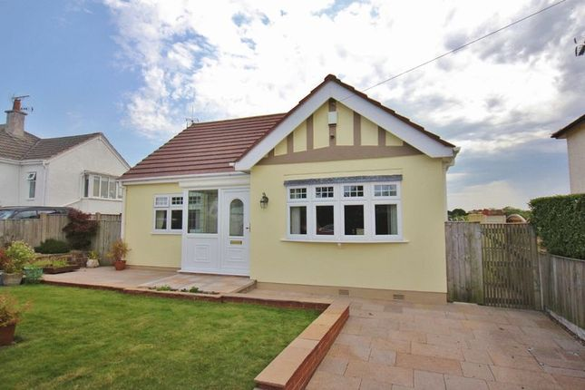 Thumbnail 3 bed detached bungalow for sale in Seabank Road, Lower Heswall, Wirral