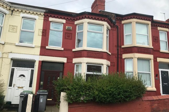 Thumbnail Terraced house to rent in St Brides Road, Wallasey, Wirral