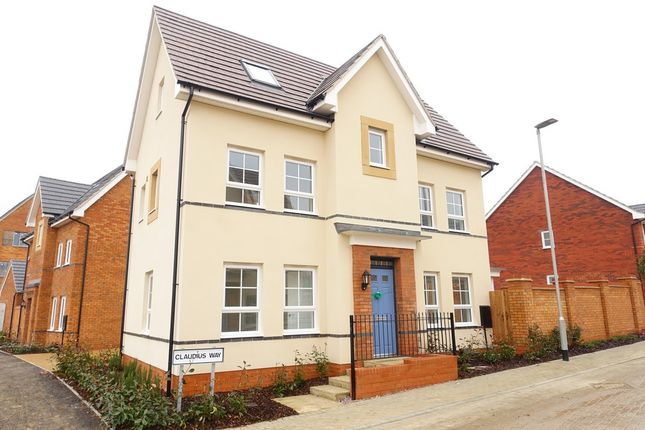 Thumbnail Detached house to rent in Claudius Way, Fairfields, Milton Keynes