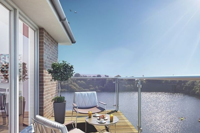 Thumbnail Flat for sale in Holborough Lakes, Manley Boulevard, Snodland, Kent