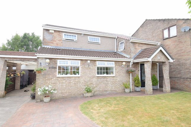 Thumbnail Detached house for sale in Weldon Close, Croesyceiliog, Cwmbran