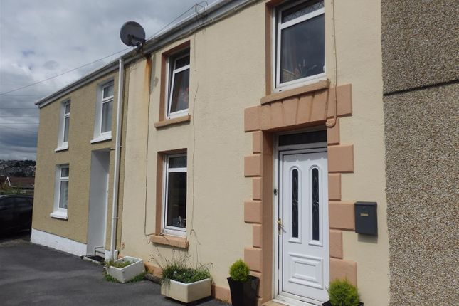 Thumbnail Terraced house for sale in Globe Row, Dafen, Llanelli