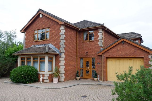 Thumbnail Detached house for sale in Heol Dowlais, Efail Isaf, Pontypridd