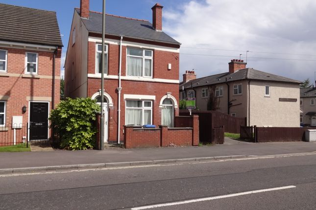 Thumbnail Shared accommodation to rent in Ashbourne Rd, Derby