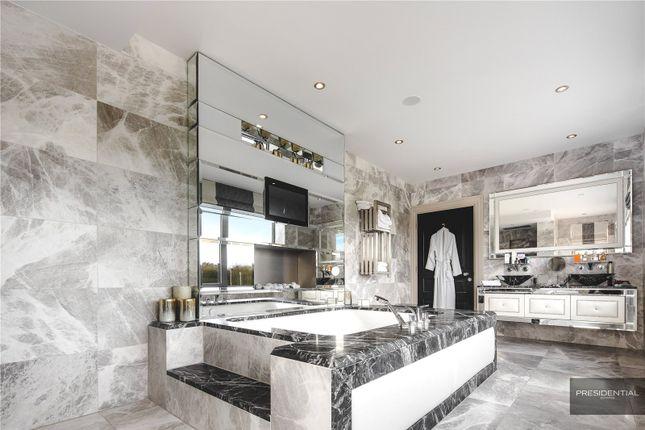 Master Bathroom of Aspen House, Chigwell, Essex IG7