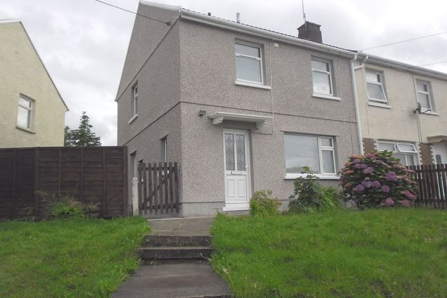 Thumbnail Semi-detached house to rent in Heol Y Bwlch, Cwmavon, Port Talbot
