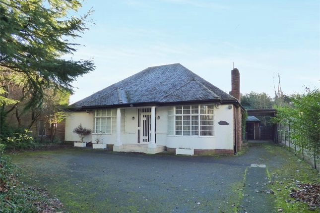 Thumbnail Detached bungalow for sale in Ringley Road, Whitefield, Manchester, Lancashire
