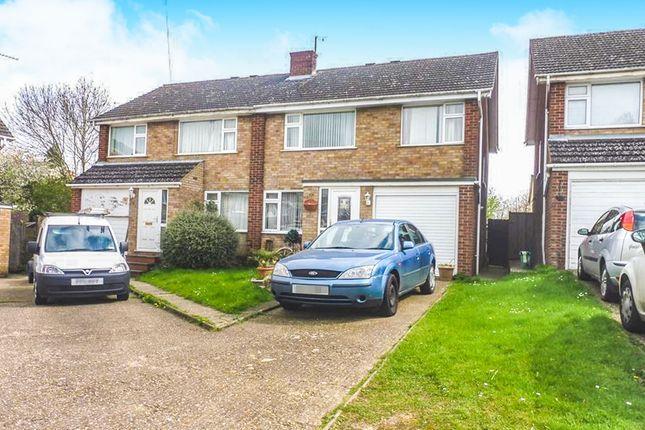 Thumbnail Semi-detached house for sale in Keats Way, Rushden