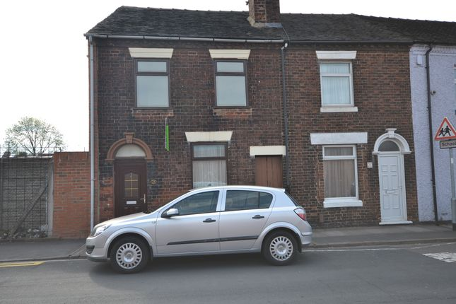 Thumbnail End terrace house to rent in Manor Street, Fenton, Stoke-On-Trent