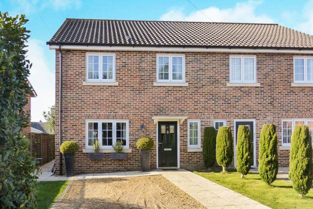 Thumbnail Semi-detached house for sale in Fairways, Hellesdon, Norwich