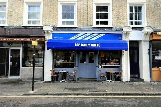 Thumbnail Restaurant/cafe for sale in Paul Street, London