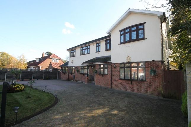 Thumbnail Detached house to rent in Burntwood Avenue, Hornchurch
