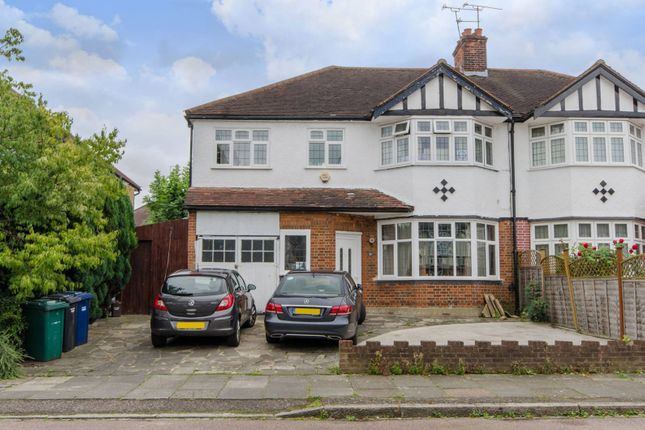 Thumbnail Semi-detached house for sale in The Fairway, High Barnet
