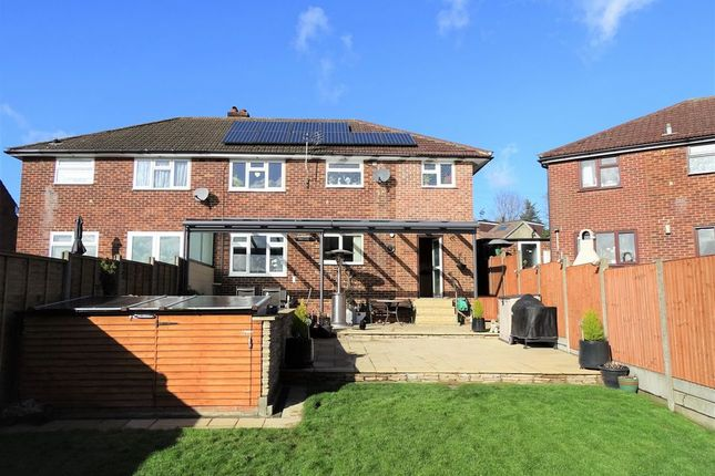 Thumbnail Semi-detached house for sale in Western Road, Nazeing, Waltham Abbey