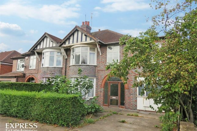 Thumbnail Semi-detached house for sale in Craighill Road, Leicester