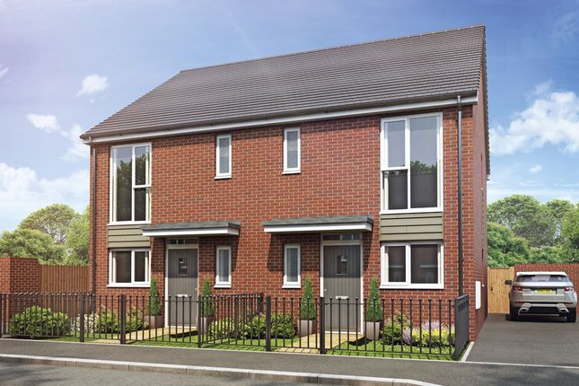 Thumbnail Semi-detached house for sale in Plot 30 The Mirin Weogoran Park, Whittington Road, Worcester