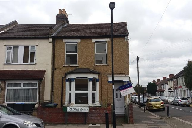 Thumbnail Flat for sale in Raynham Avenue, London