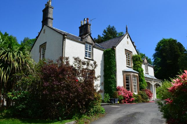 Thumbnail Detached house for sale in Artarman Road, Rhu, Helensburgh