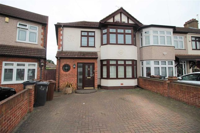 Thumbnail Semi-detached house to rent in Laurel Crescent, Romford