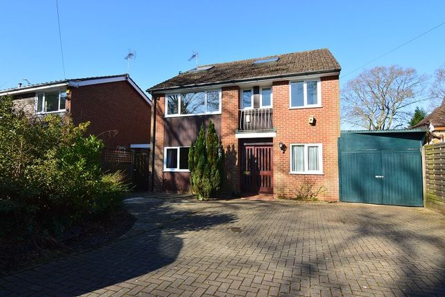 Thumbnail Detached house to rent in Finchampstead Road, Finchampstead, Wokingham