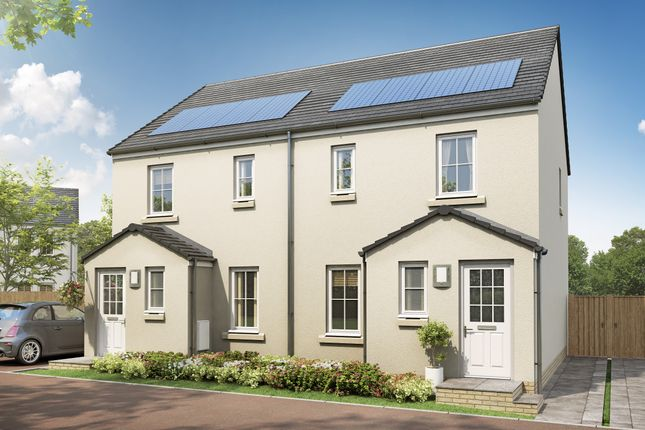 """Thumbnail Semi-detached house for sale in """"The Annan III"""" at Stable Gardens, Galashiels"""
