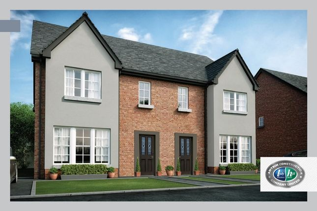 Thumbnail Semi-detached house for sale in Drumford Meadow, Kernan Hill Manor, Portadown