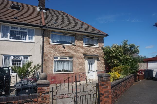 3 bed terraced house for sale in Cromford Road, Huyton