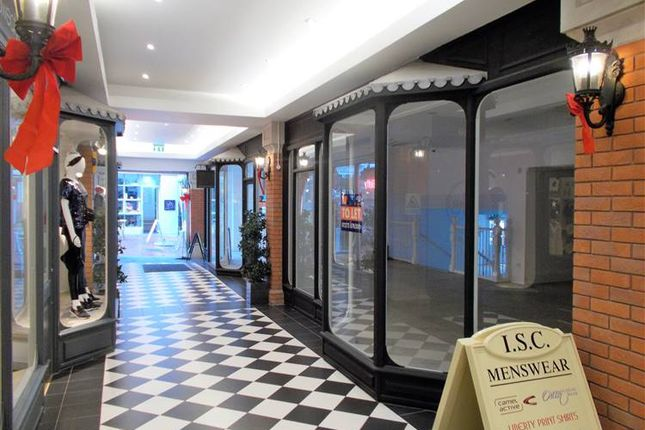 Thumbnail Retail premises to let in Regent Arcade, Brighton
