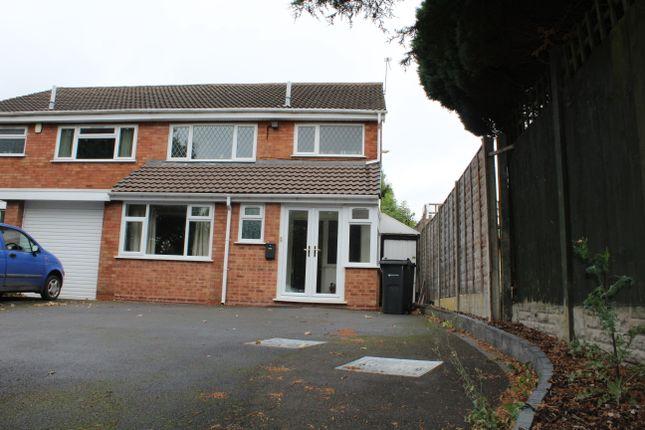 Thumbnail Semi-detached house to rent in Howard Road East, Birmingham