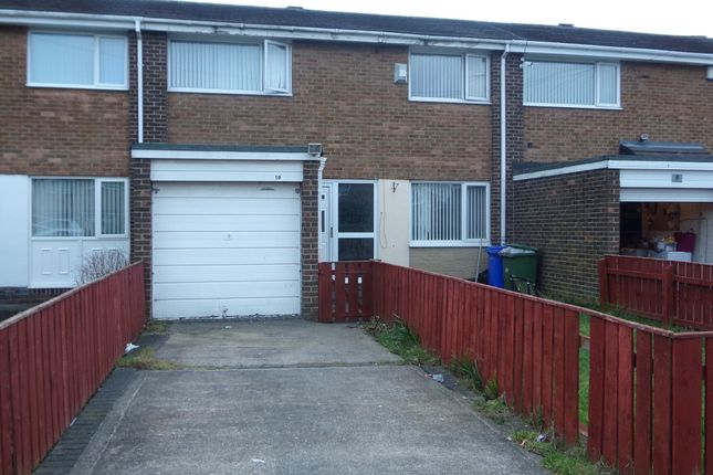 Thumbnail Terraced house to rent in Falston Road, Blyth