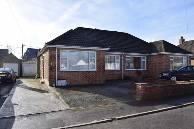Thumbnail Semi-detached bungalow for sale in Burleaze, Chippenham, Wiltshire