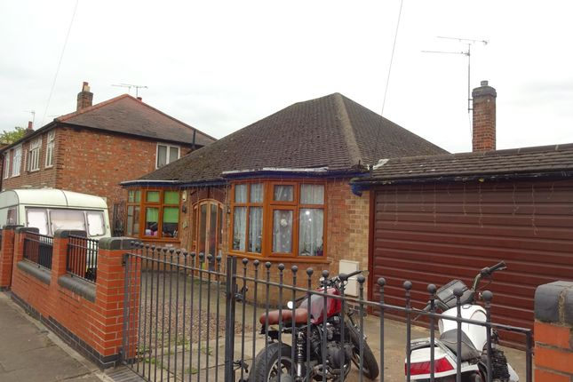 Thumbnail Detached bungalow for sale in Orton Road, Leicester