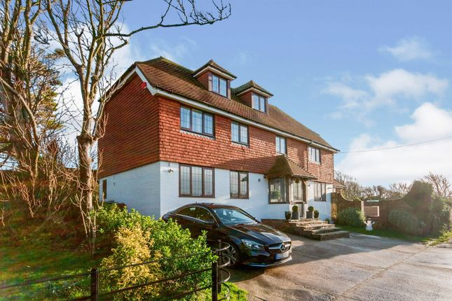 Thumbnail Detached house for sale in Cophall Lane, East Dean, Eastbourne