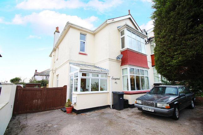 Thumbnail Flat for sale in Fortescue Road, Paignton