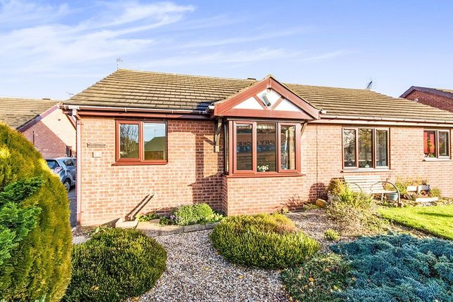 Thumbnail Bungalow for sale in Carisbrooke Close, Lincoln