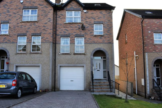 Thumbnail Semi-detached house to rent in Riverglade Manor, Lurgan