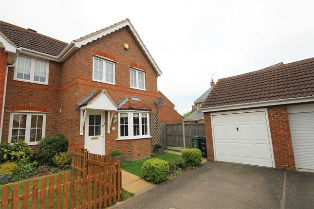 Thumbnail Semi-detached house for sale in Daphne Close, Great Notley, Braintree, Essex