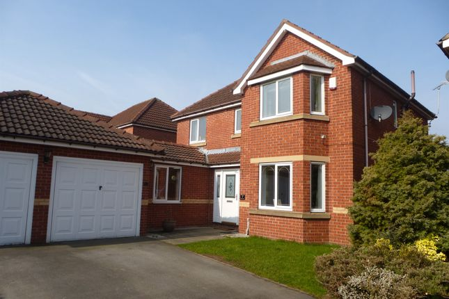 Thumbnail Detached house for sale in Rosewood Close, Worksop