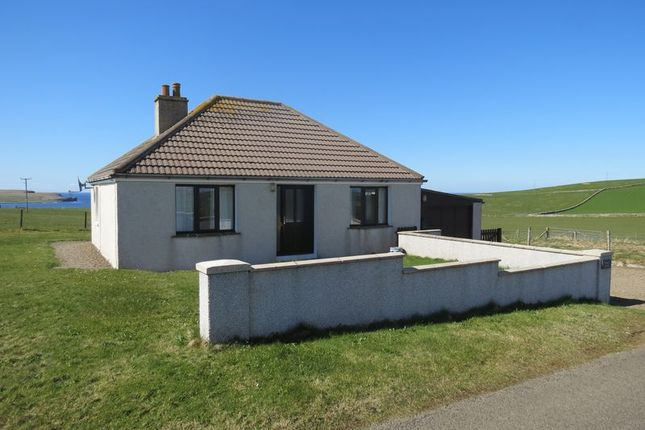 Thumbnail Detached bungalow for sale in Brae Villa, Quoyloo, Orkney