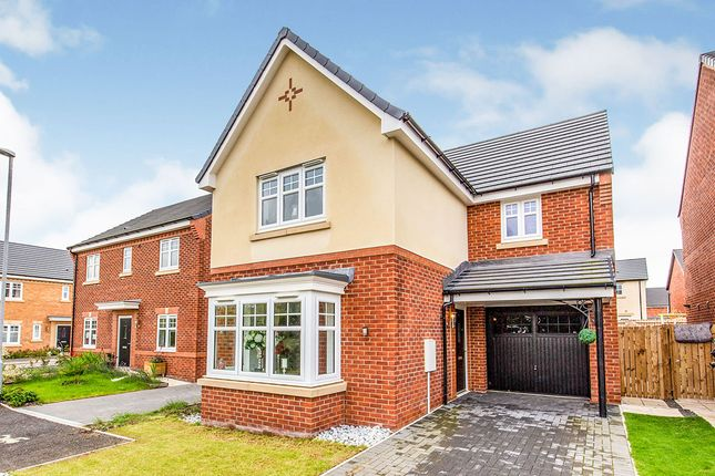Thumbnail Detached house for sale in Hawker Grove, Middleton St. George, Darlington