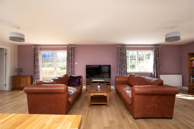 Open Plan Living of Trimontium View, Midlem, Roxburghshire TD7
