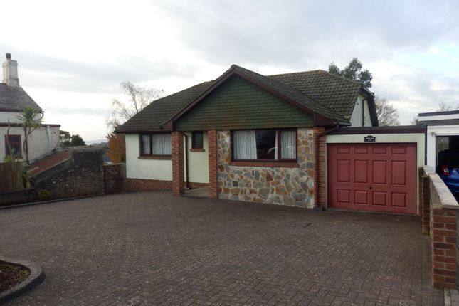 Thumbnail Detached bungalow for sale in Barton Hill Road, Torquay